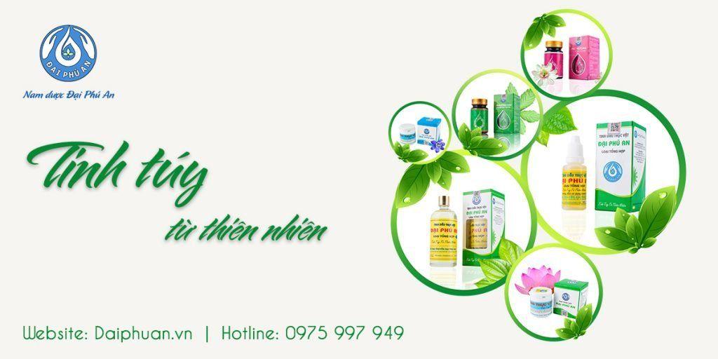 Tinh dầu thực vật Đại Phú An 100% thiên nhiên