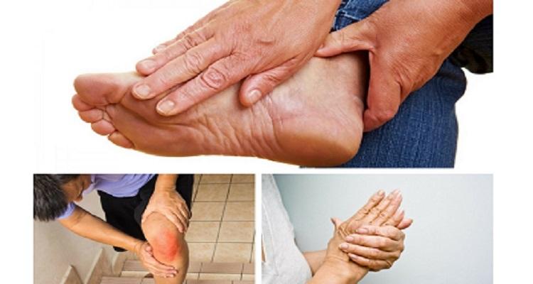 Những khớp thường xuyên bị đau nhức (Nguồn ảnh: Internet)