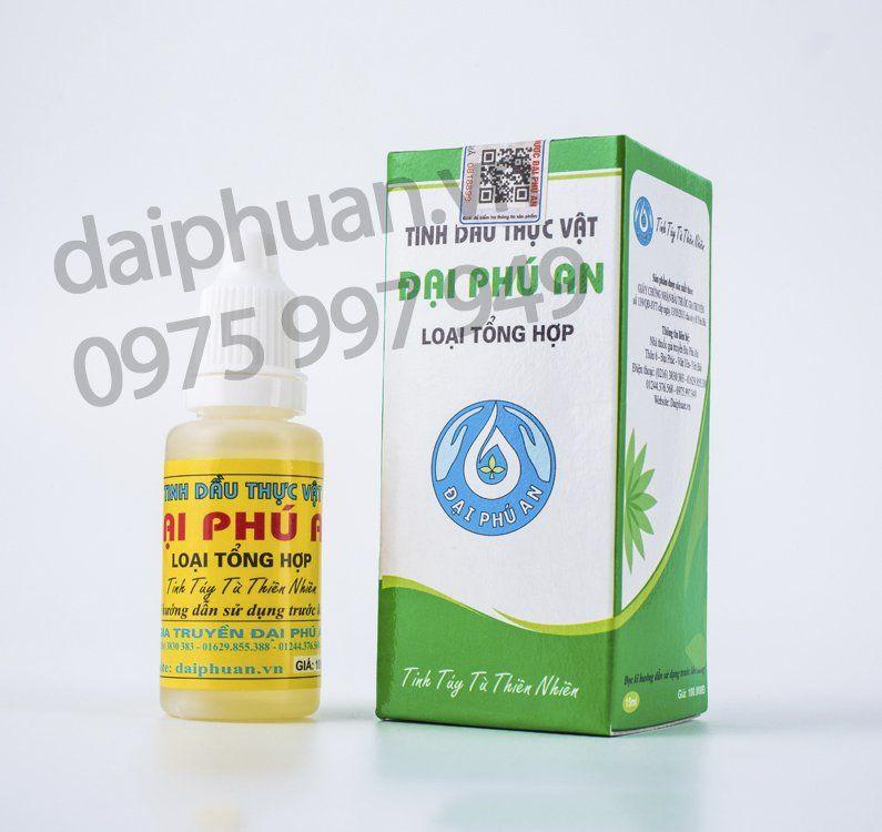 Tình dầu thực vật Đại Phú An