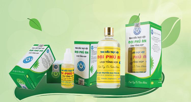 Tinh dầu thực vật Đại Phú An có tốt không?