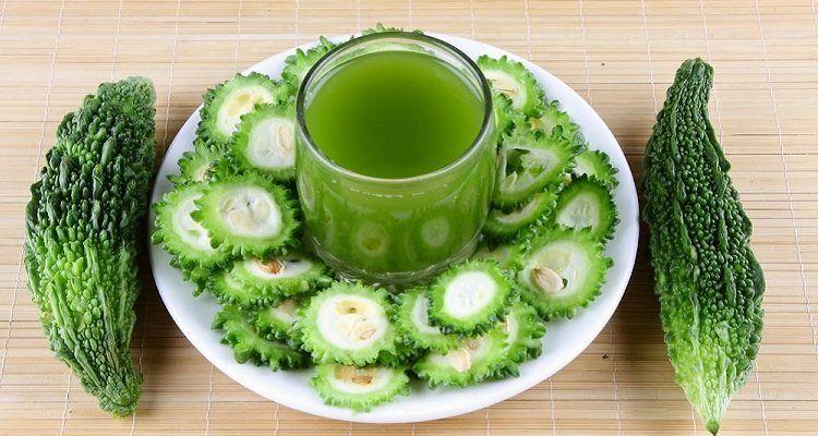 Một ly nước khổ qua mỗi ngày giúp bạn giải độc gan, thanh lọc cơ thể. ( Nguồn ảnh: Internet)
