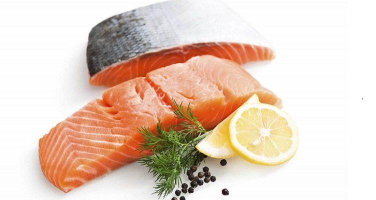 Cá hồi là một trong những thực phẩm giúp giải độc, mát gan hiệu quả. (Nguồn ảnh: Internet)