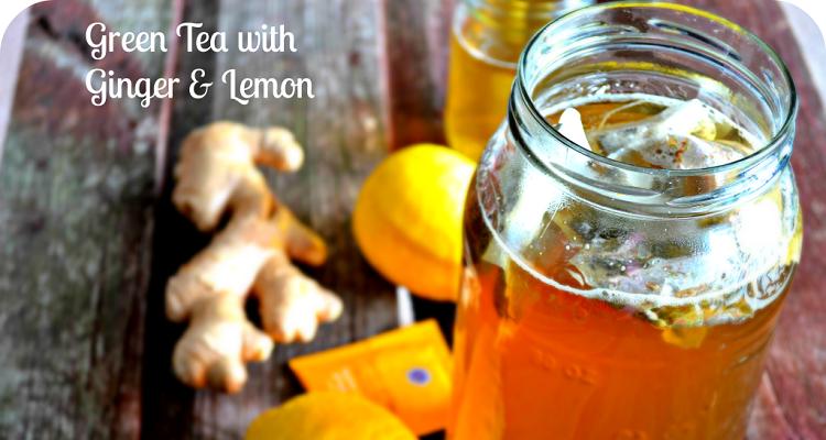 Detox trà chanh và gừng (nguồn ảnh: Internet)