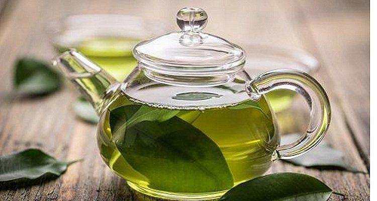 Trà xanh - thức uống mát gan. giản độc cơ thể ( Nguồn ảnh: internet)