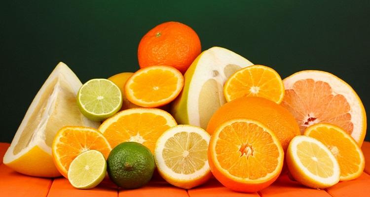 Trài cây họ cam chanh là thực phẩm giúp giải độc, mát gan hiệu quả (Nguồn ảnh: Internet)