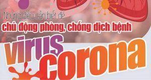 Phòng chống dịch corona (Nguồn internet)