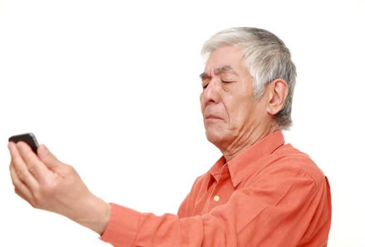 Thoái hóa điểm vàng là một trong những bệnh về mắt ở người lớn tuổi.