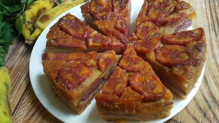 Bánh chuối Lục Yên thơm ngon, ngọt ngào.