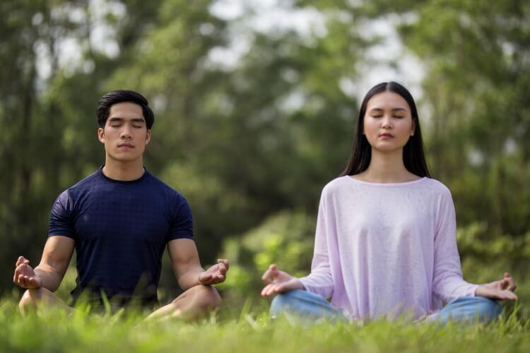 Thiền giúp tâm trí con người được tĩnh lại, giúp cân bằng cả thể xác và tâm hồn.
