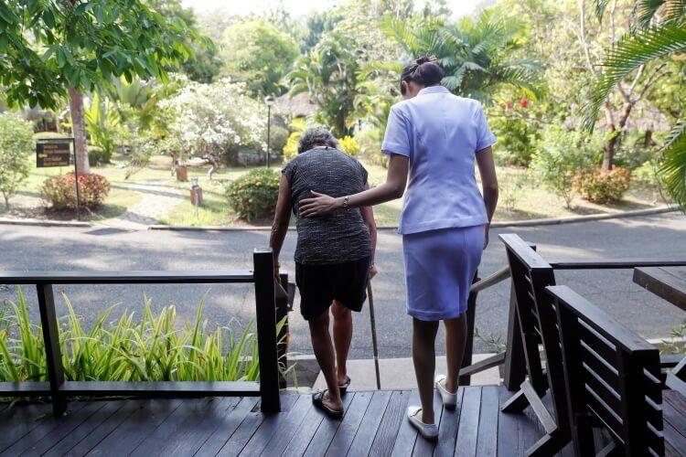Loại hình du lịch chăm sóc sức khỏe được nhiều người lớn tuổi lựa chọn.