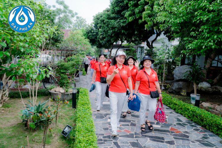 Khung cảnh thiên nhiên tràn ngập sắc xanh cùng không khí trong lành, thoáng đãng ở Đại Phú An.