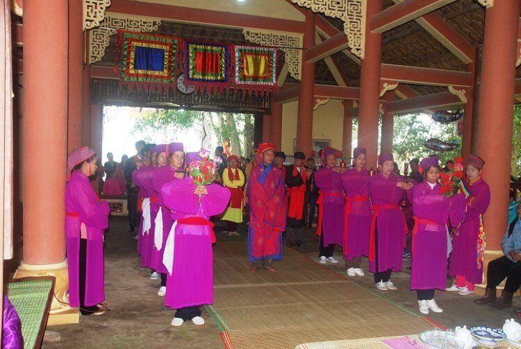 Lễ hội Yên Bái - Đình làng Dọc