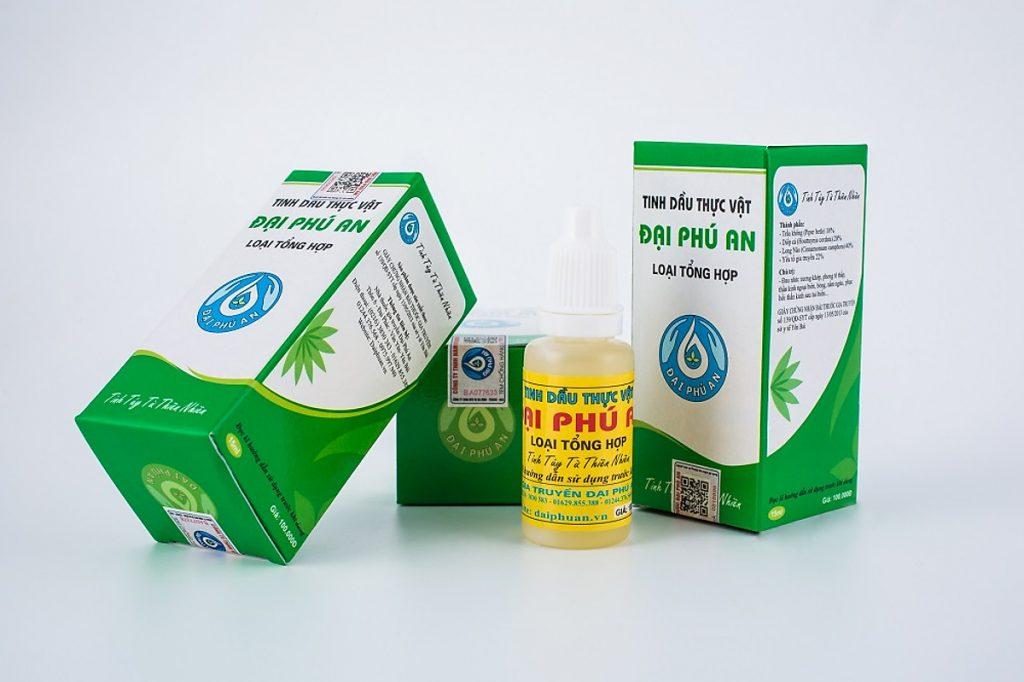 Tinh dầu thực vật Đại Phú An là dầu mát đặc trị xương khớp