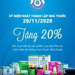 Kỷ niệm 20 năm thành lập nhà thuốc Đại Phú An