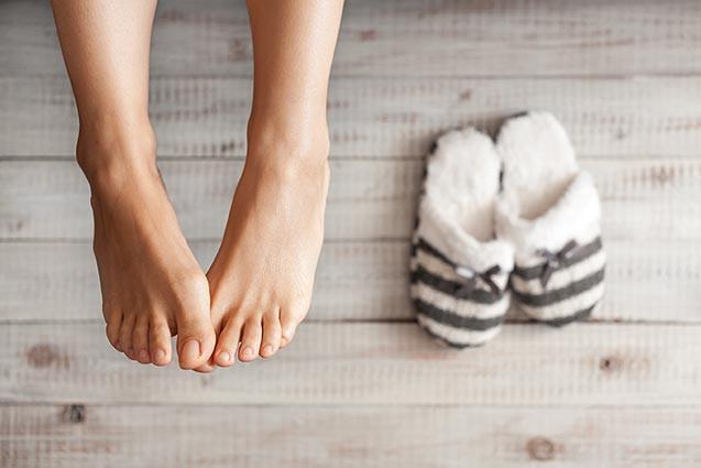 Trị chứng chân lạnh với Thảo dược ngâm chân Đại Phú An