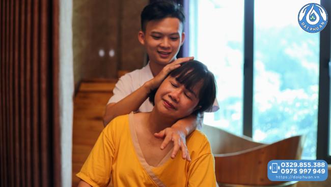 Trị liệu tại Khu nghỉ dưỡng và Chăm sóc sức khỏe Đại Phú An