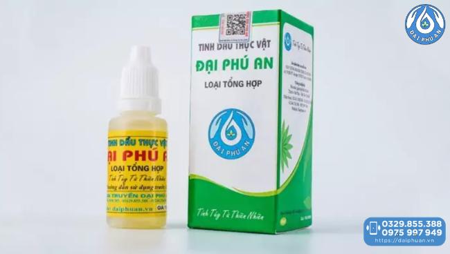 Tinh dầu thực vật Đại Phú An chính hãng