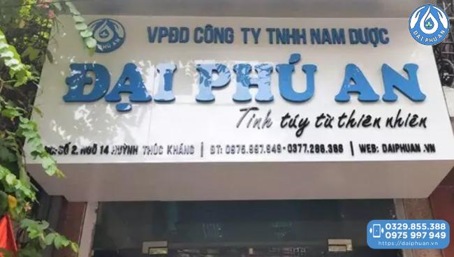 Văn phòng Đại Phú An tại Hà Nội
