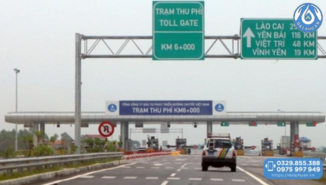 Cao tốc Nội bài - Lào cao tới Yên Bái