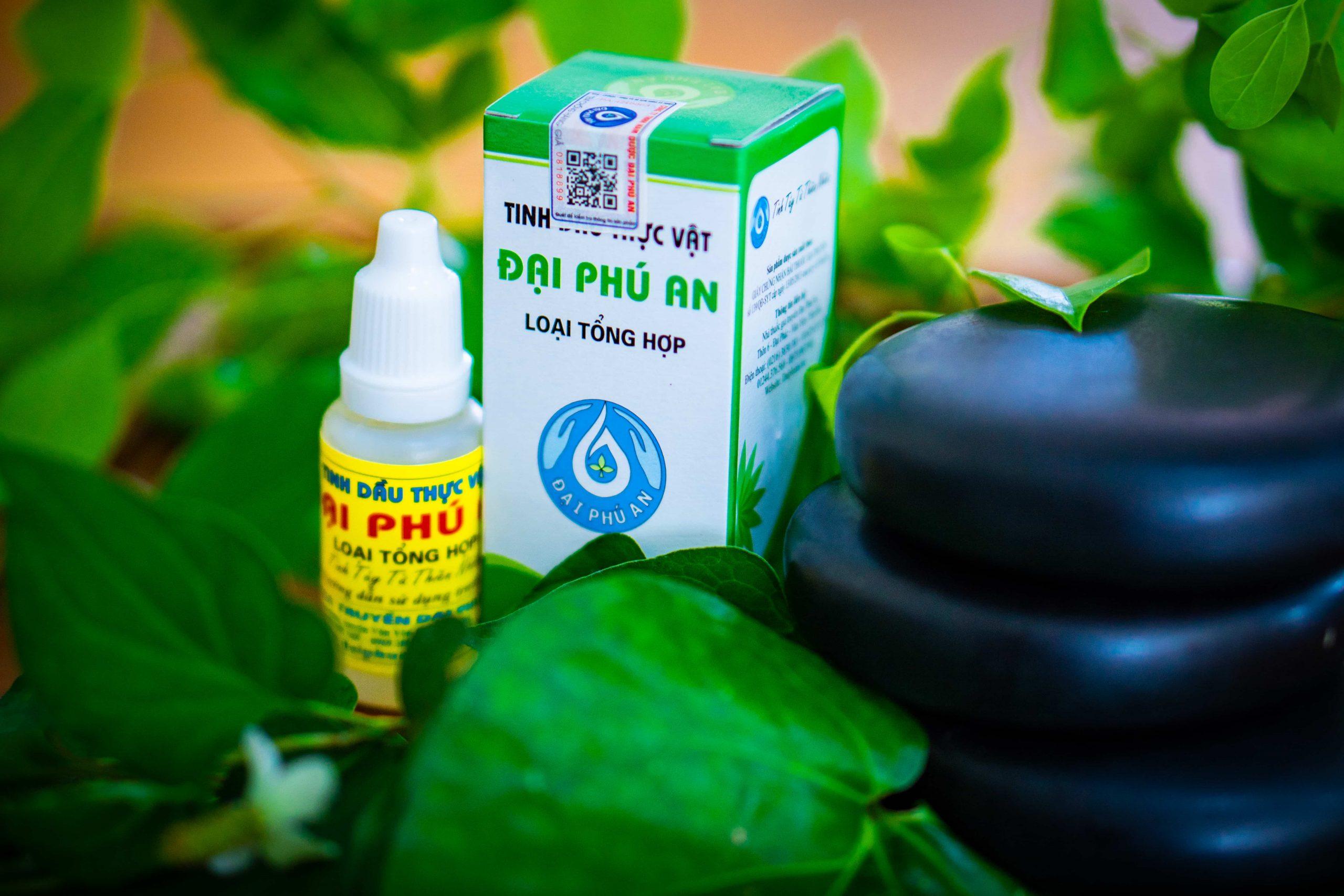 Tinh dầu thực vật Đại Phú An