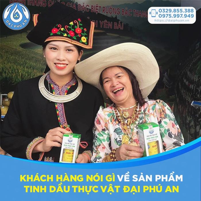 Tinh dầu thực vật Đại Phú An Review